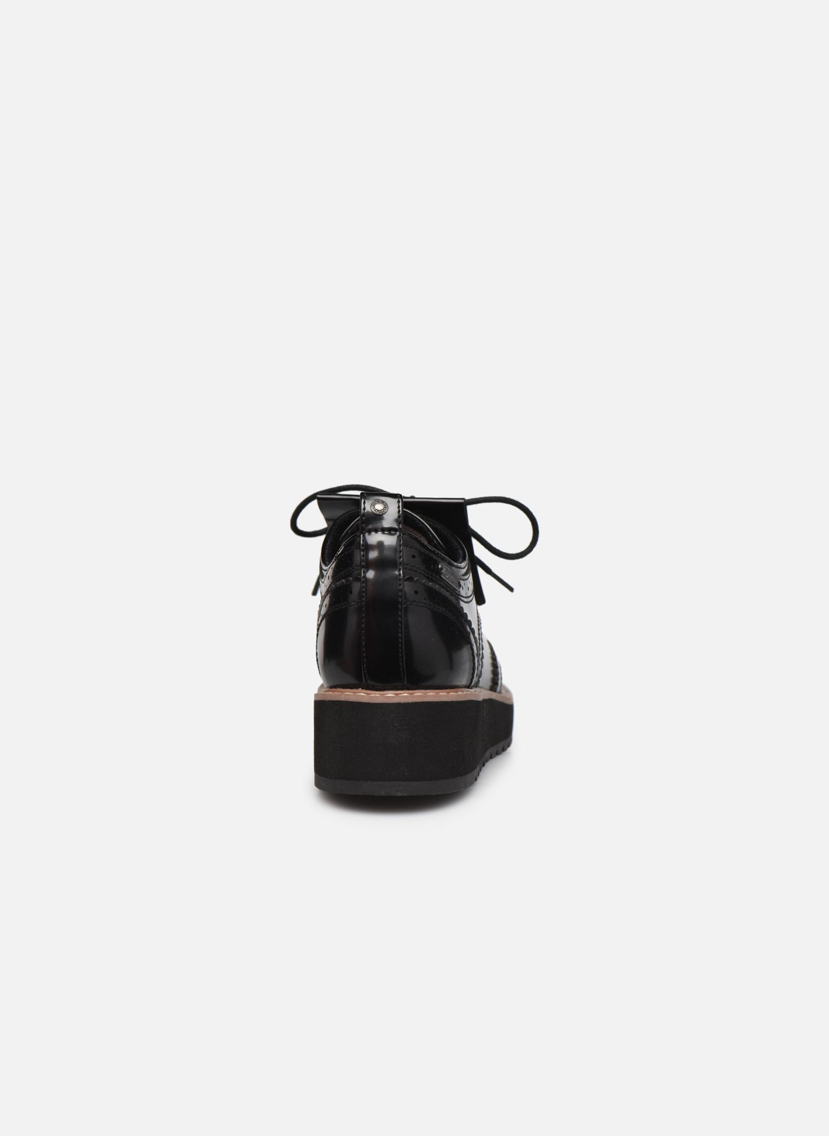 Chaussures à lacets Pepe jeans RAMSY tassel Noir vue droite