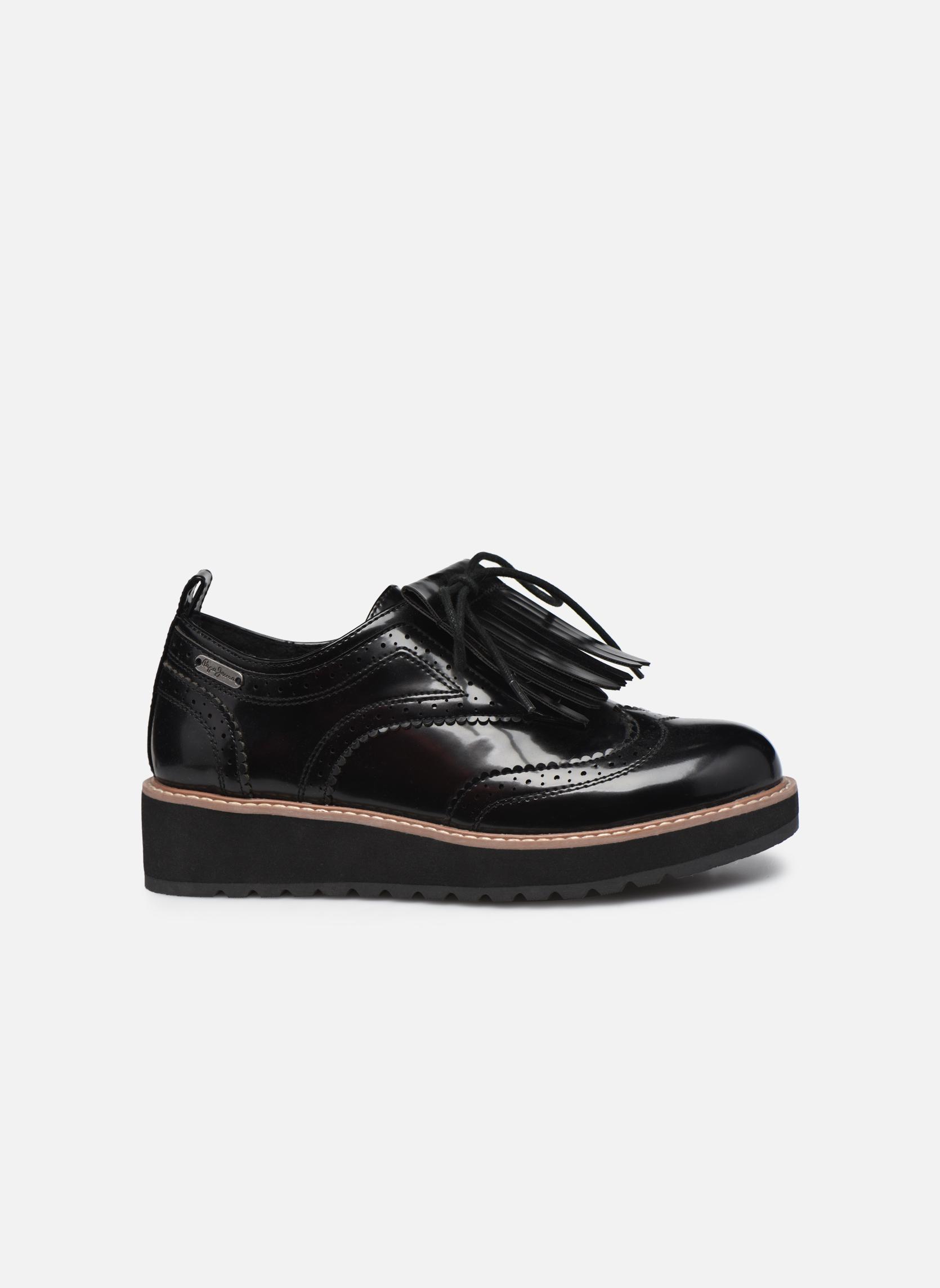 Chaussures à lacets Pepe jeans RAMSY tassel Noir vue derrière