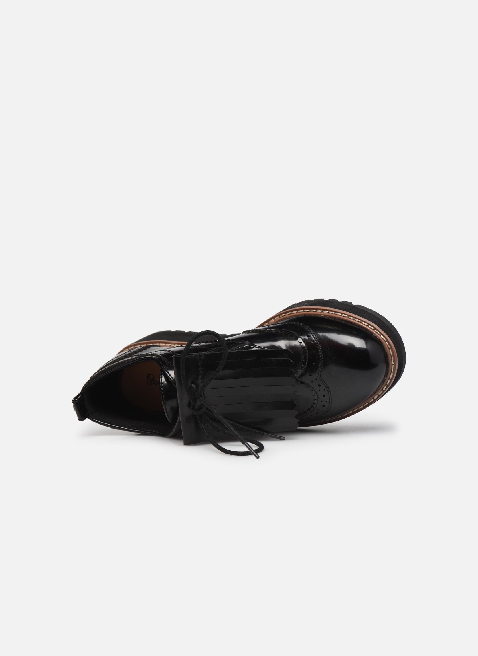 Chaussures à lacets Pepe jeans RAMSY tassel Noir vue gauche