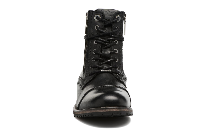 Boots Pepe jeans MELTING ZIPPER NEW Svart bild av skorna på