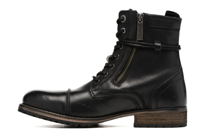Bottines et boots Pepe jeans MELTING ZIPPER NEW Noir vue face