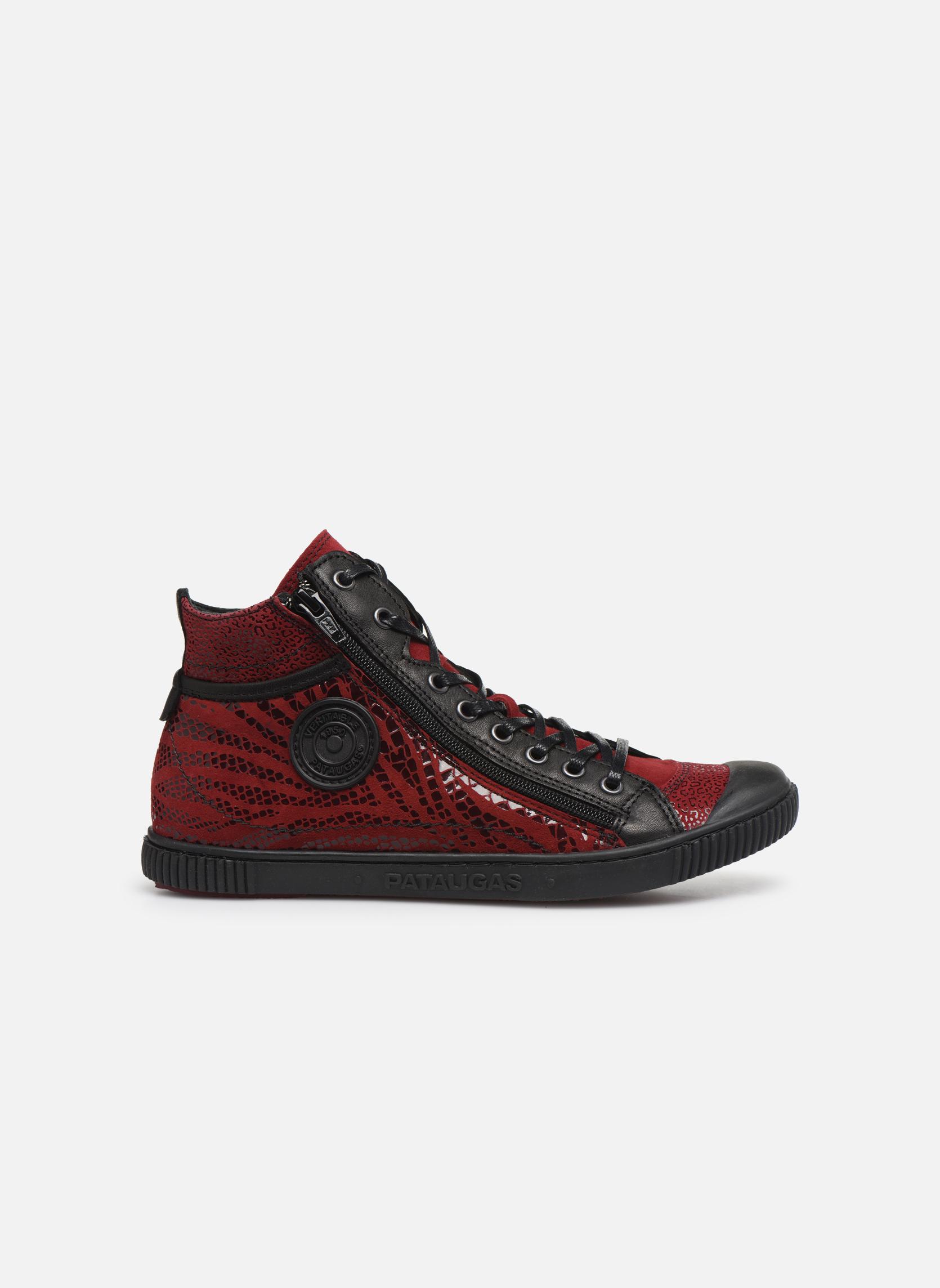 Baskets Pataugas Bono/Z Rouge vue derrière