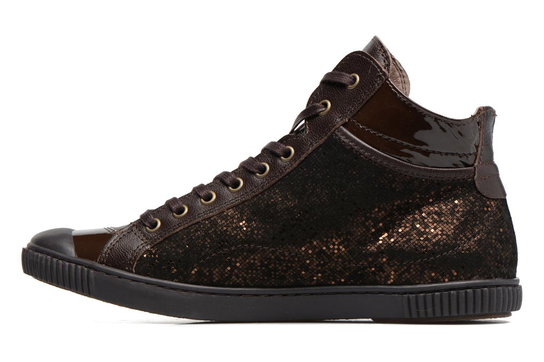Sneakers Pataugas Bono Marrone immagine frontale