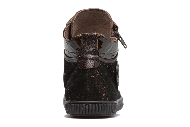 Sneakers Pataugas Bono Marrone immagine destra
