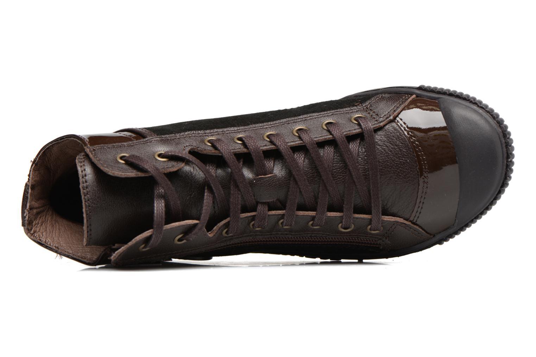 Sneakers Pataugas Bono Marrone immagine sinistra