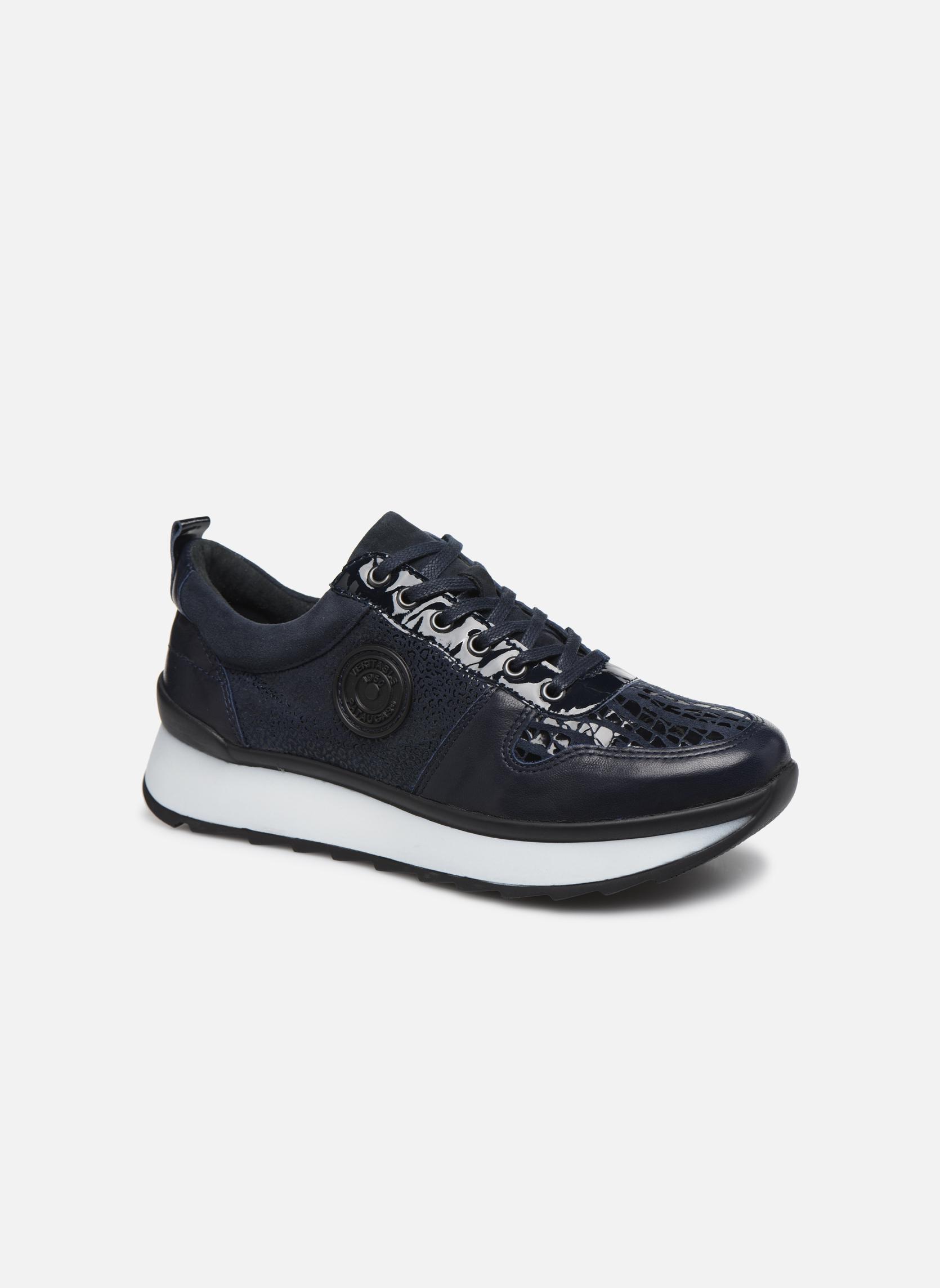 Baskets Pataugas Ocean/Z Bleu vue détail/paire