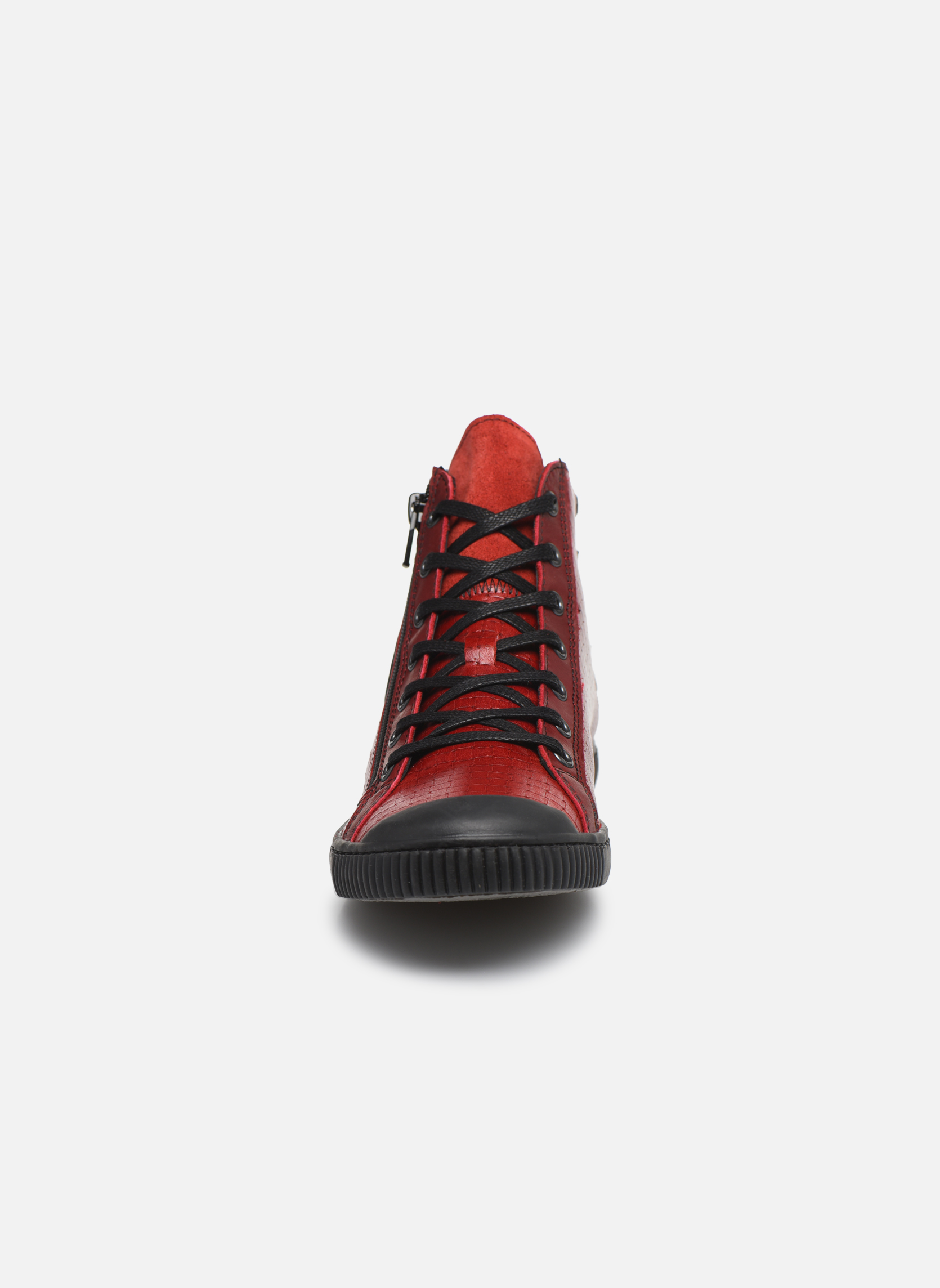 Trainers Pataugas Bey Red model view