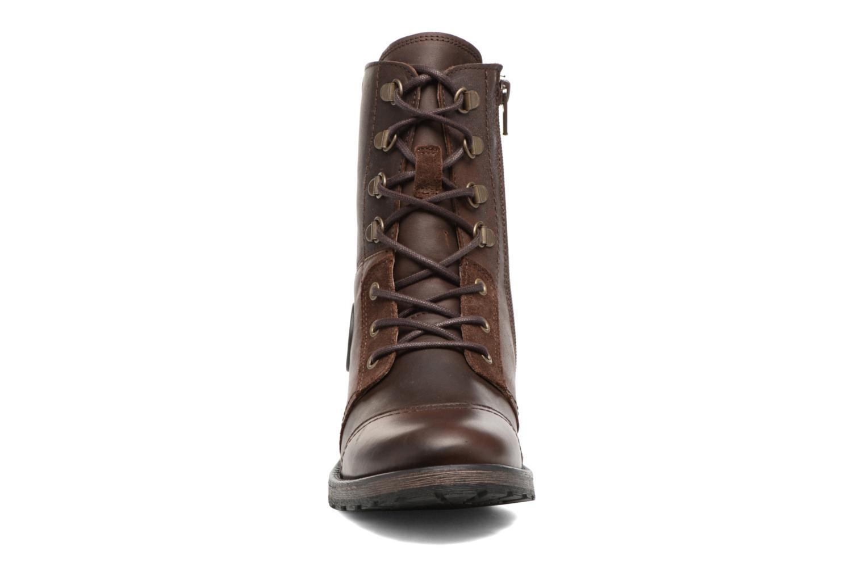 Bottines et boots Pataugas Duke Marron vue portées chaussures