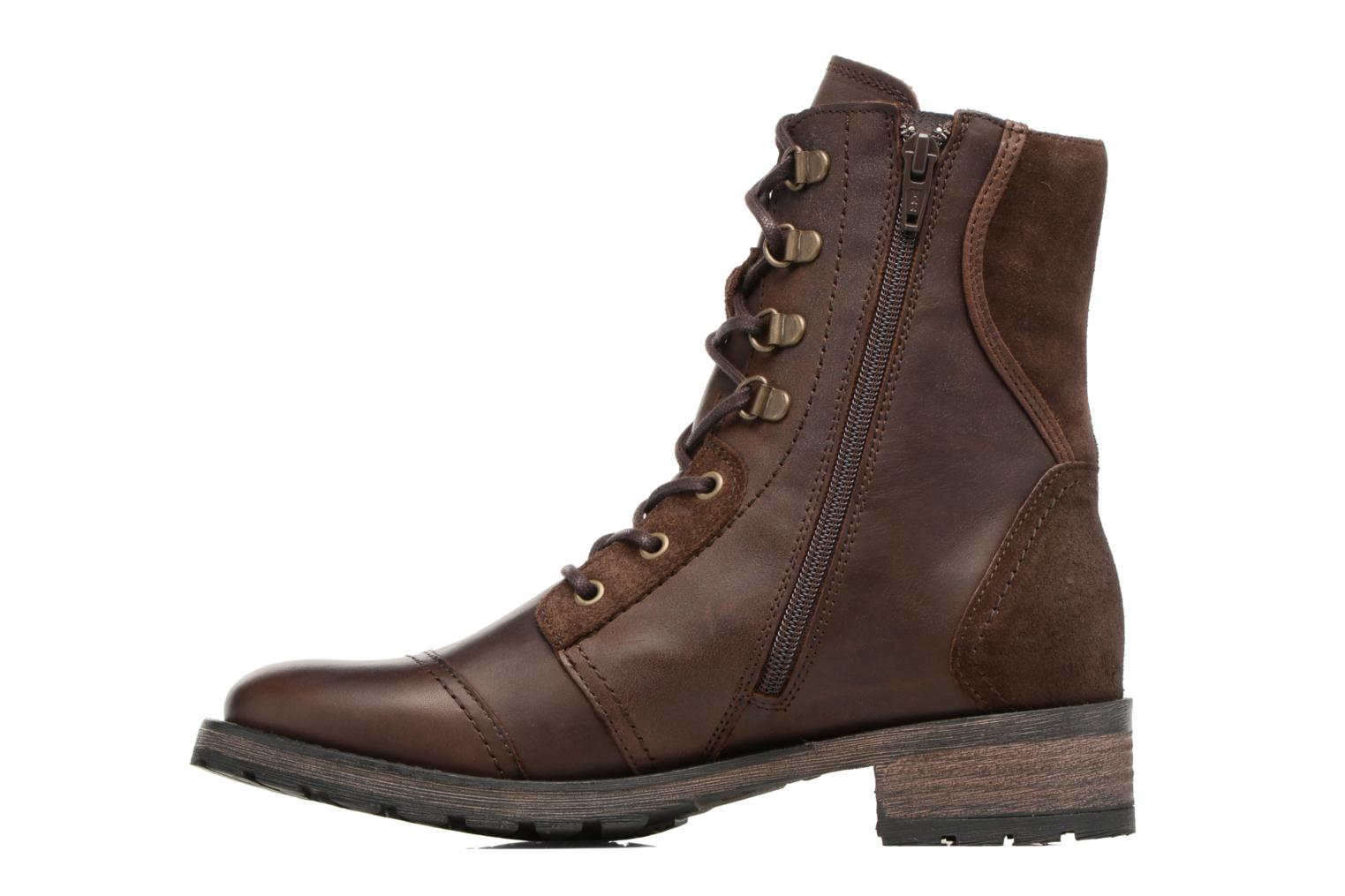 Bottines et boots Pataugas Duke Marron vue face