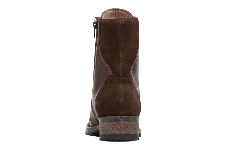 Bottines et boots Pataugas Duke Marron vue droite