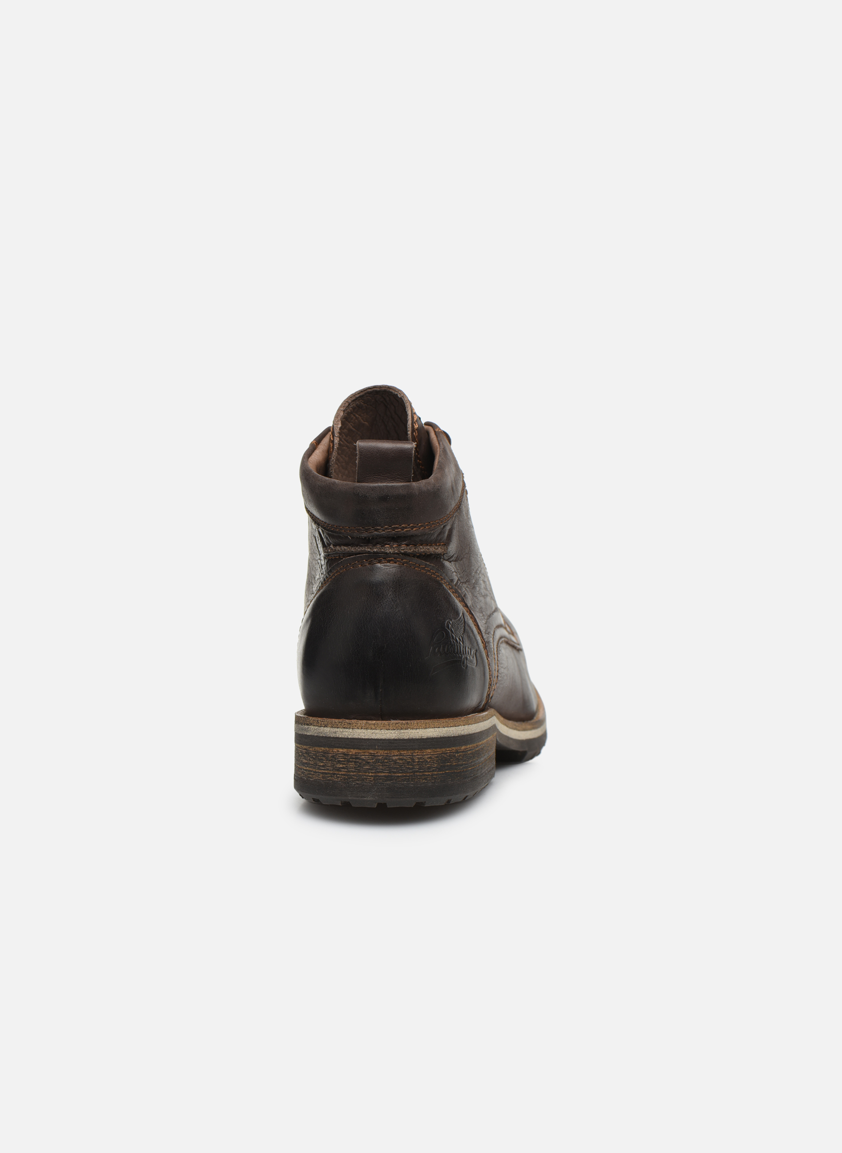 Bottines et boots Pataugas Thar Marron vue droite
