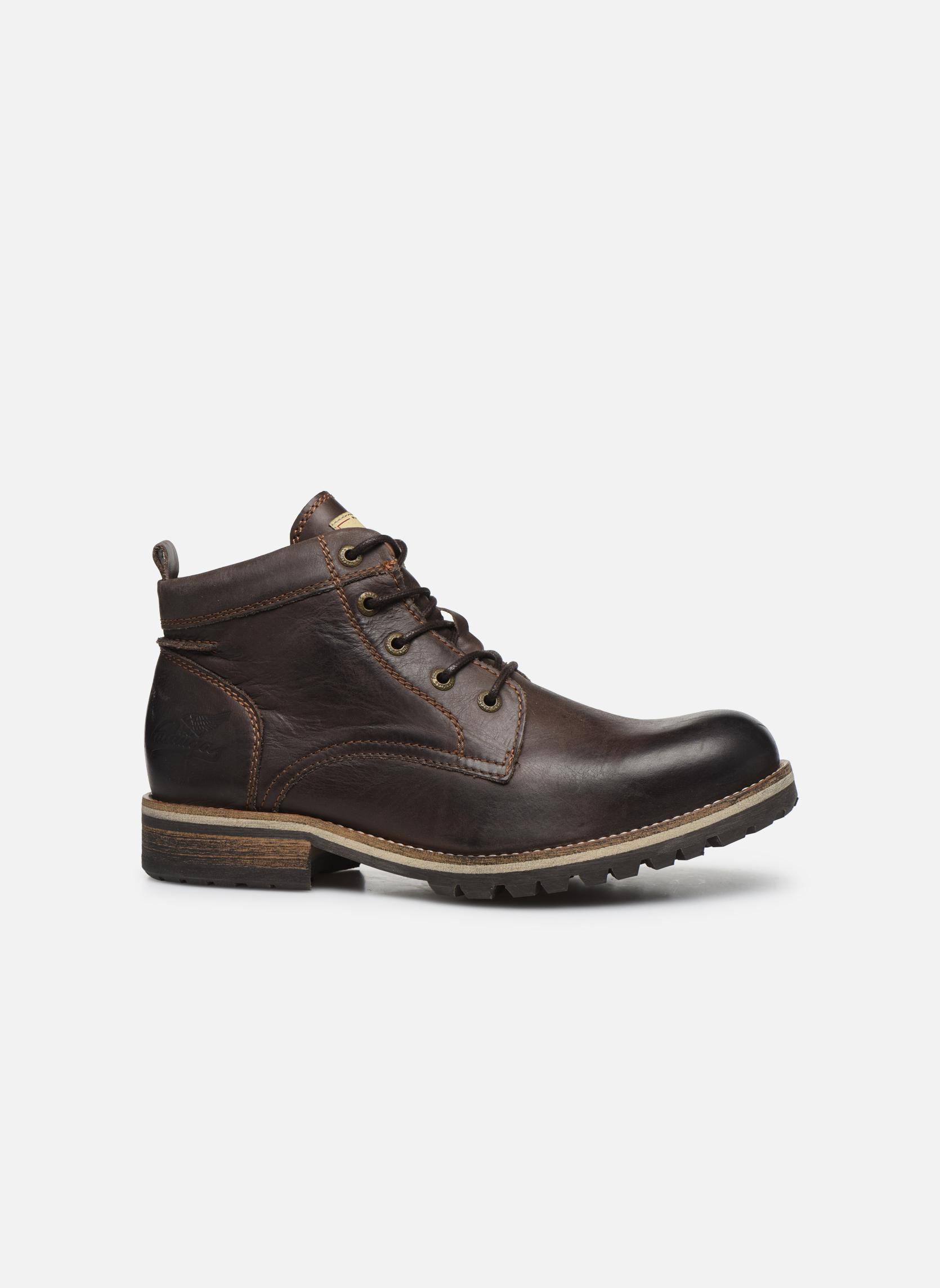 Bottines et boots Pataugas Thar Marron vue derrière