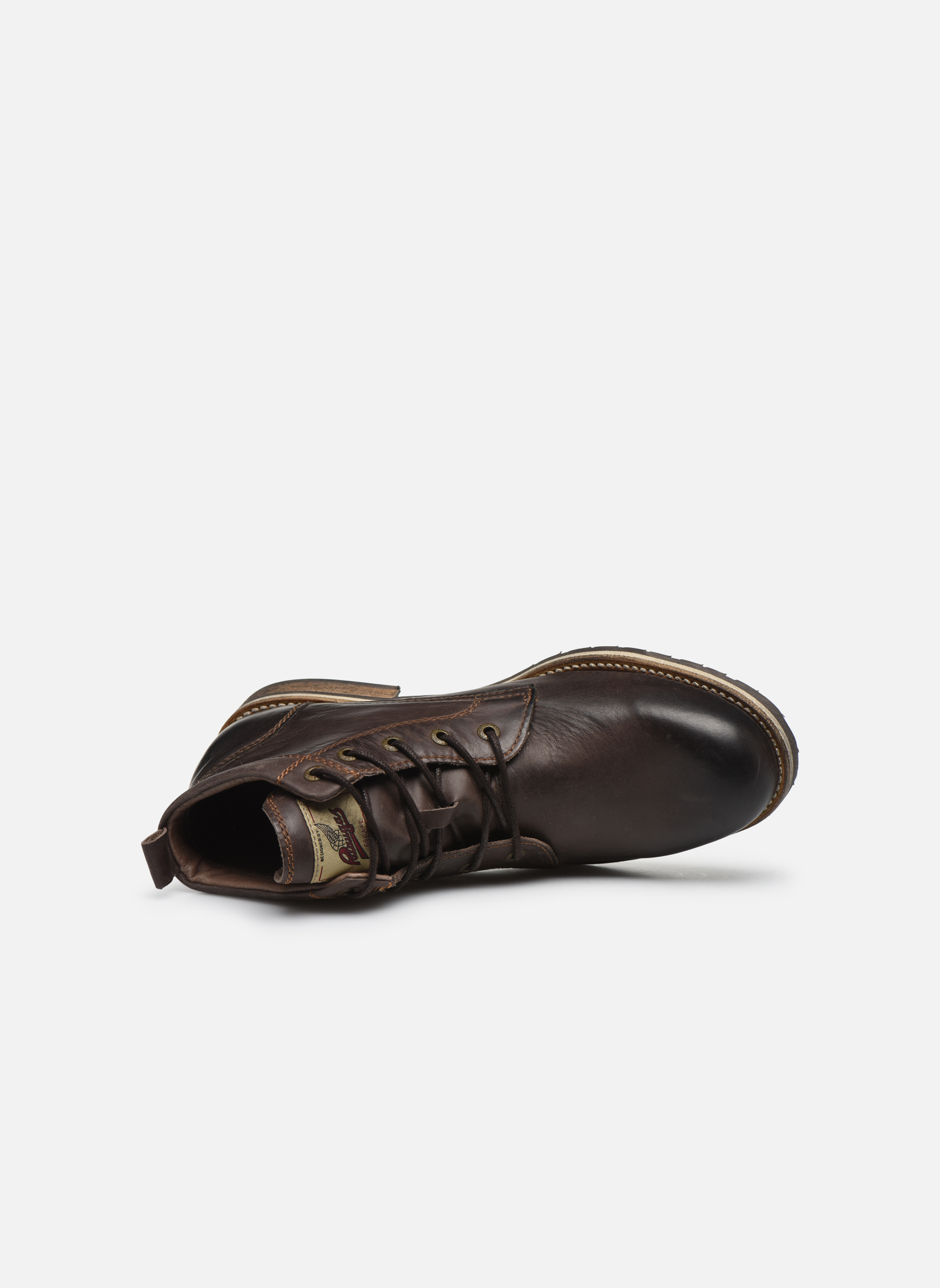 Bottines et boots Pataugas Thar Marron vue gauche