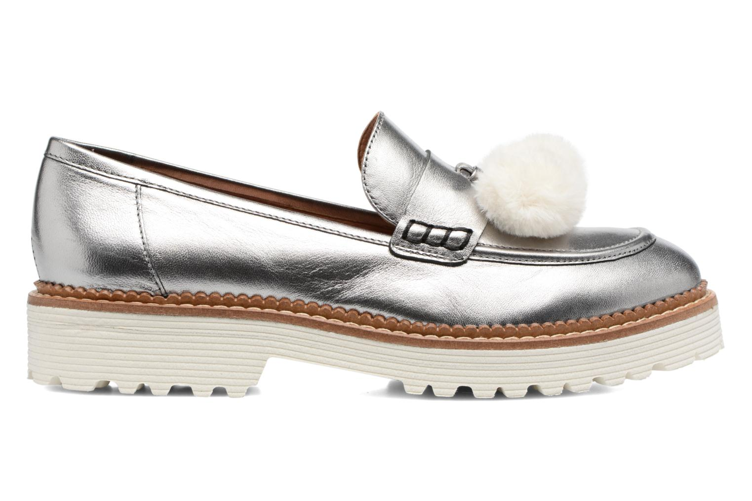 Loafers Made by SARENZA 90's Girls Gang Mocassins #4 Silver detailed view/ Pair view