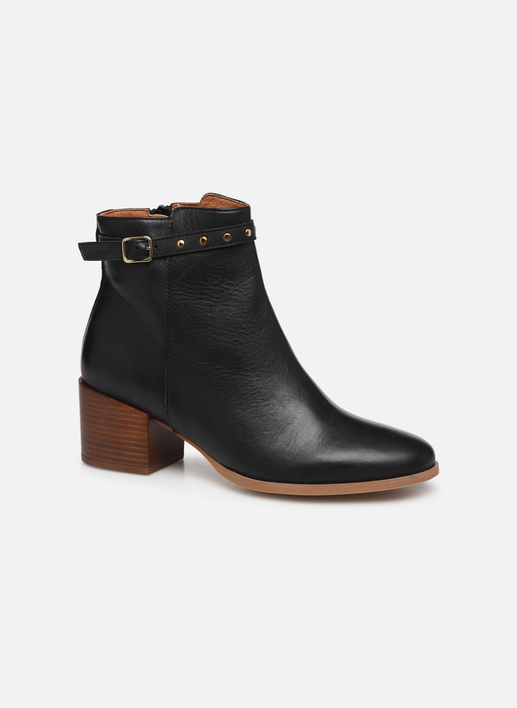 Schmoove Woman Callisto boots Lotus (Noir) - Bottines et boots chez Sarenza (301498)