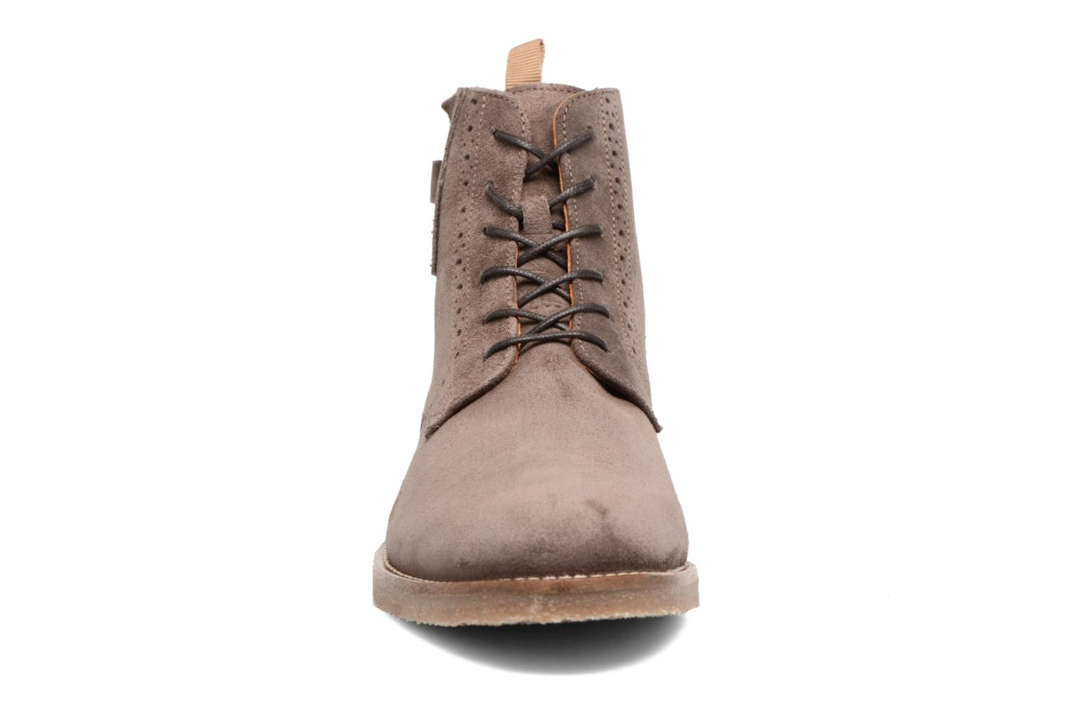 Ankle boots Schmoove Daze Boots Suede Brown model view