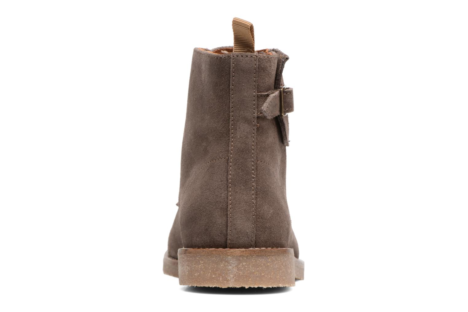Ankle boots Schmoove Daze Boots Suede Brown view from the right