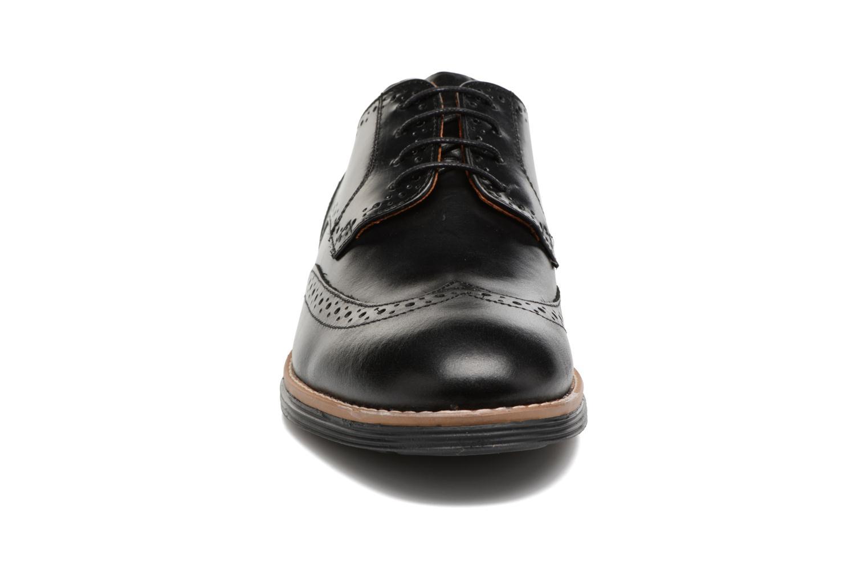 Chaussures à lacets Schmoove Prism Brogue Cliton Noir vue portées chaussures