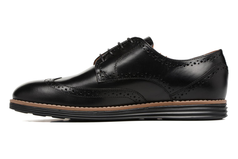 Chaussures à lacets Schmoove Prism Brogue Cliton Noir vue face