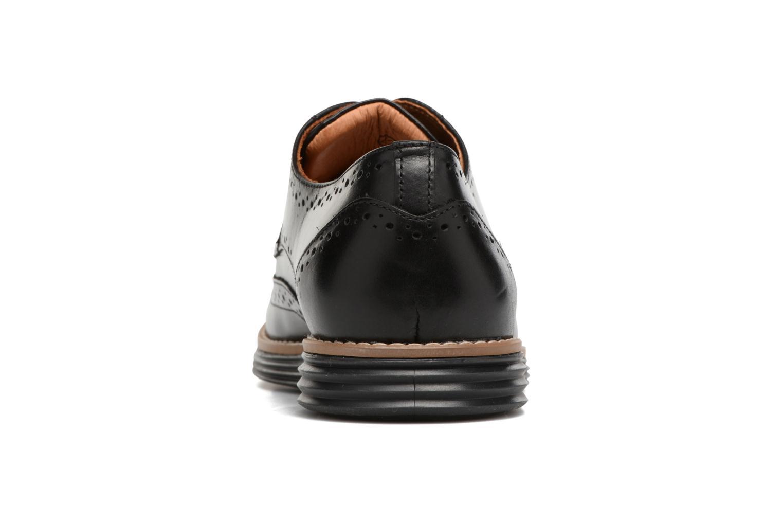 Chaussures à lacets Schmoove Prism Brogue Cliton Noir vue droite