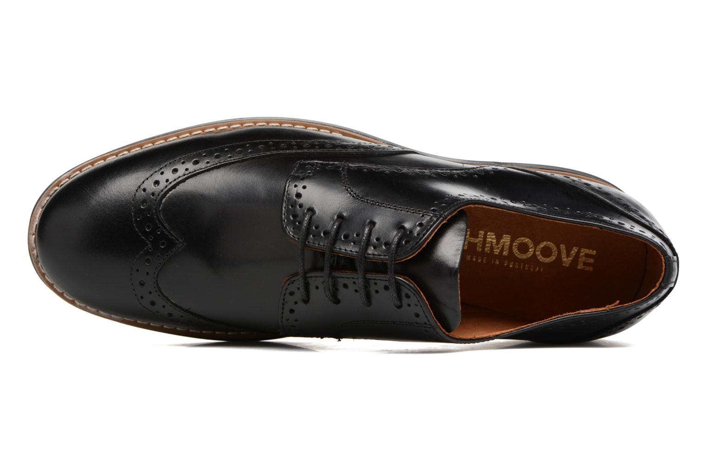 Chaussures à lacets Schmoove Prism Brogue Cliton Noir vue gauche