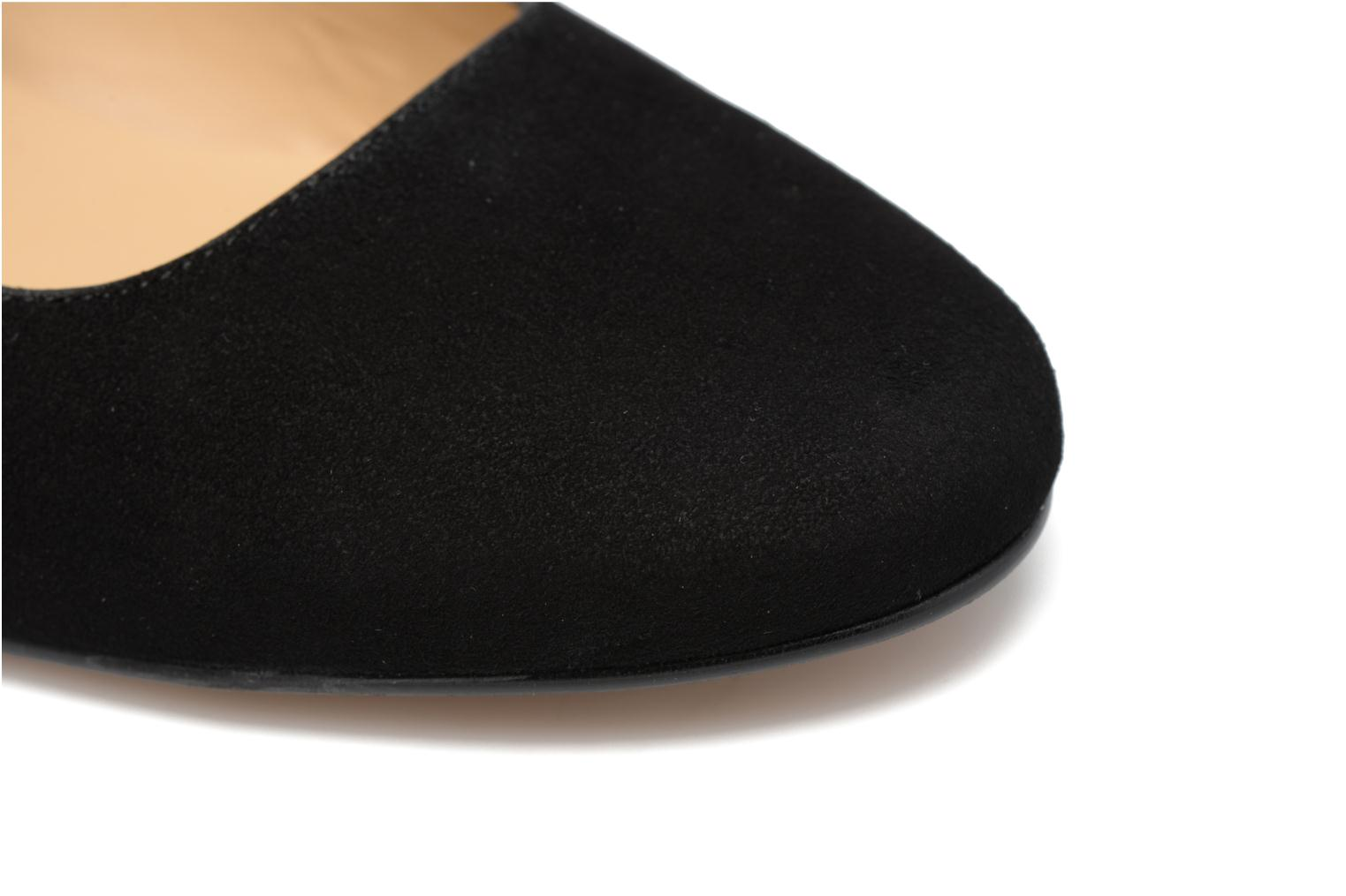 Ballet pumps Made by SARENZA Funtastic Chick #2 Black view from the left
