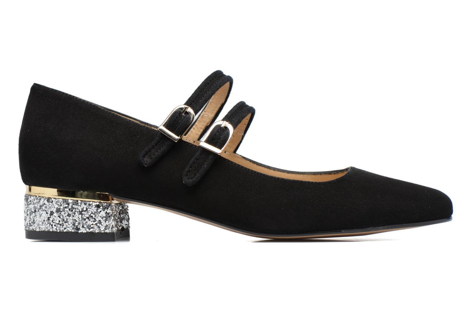 Ballet pumps Made by SARENZA Funtastic Chick #2 Black detailed view/ Pair view