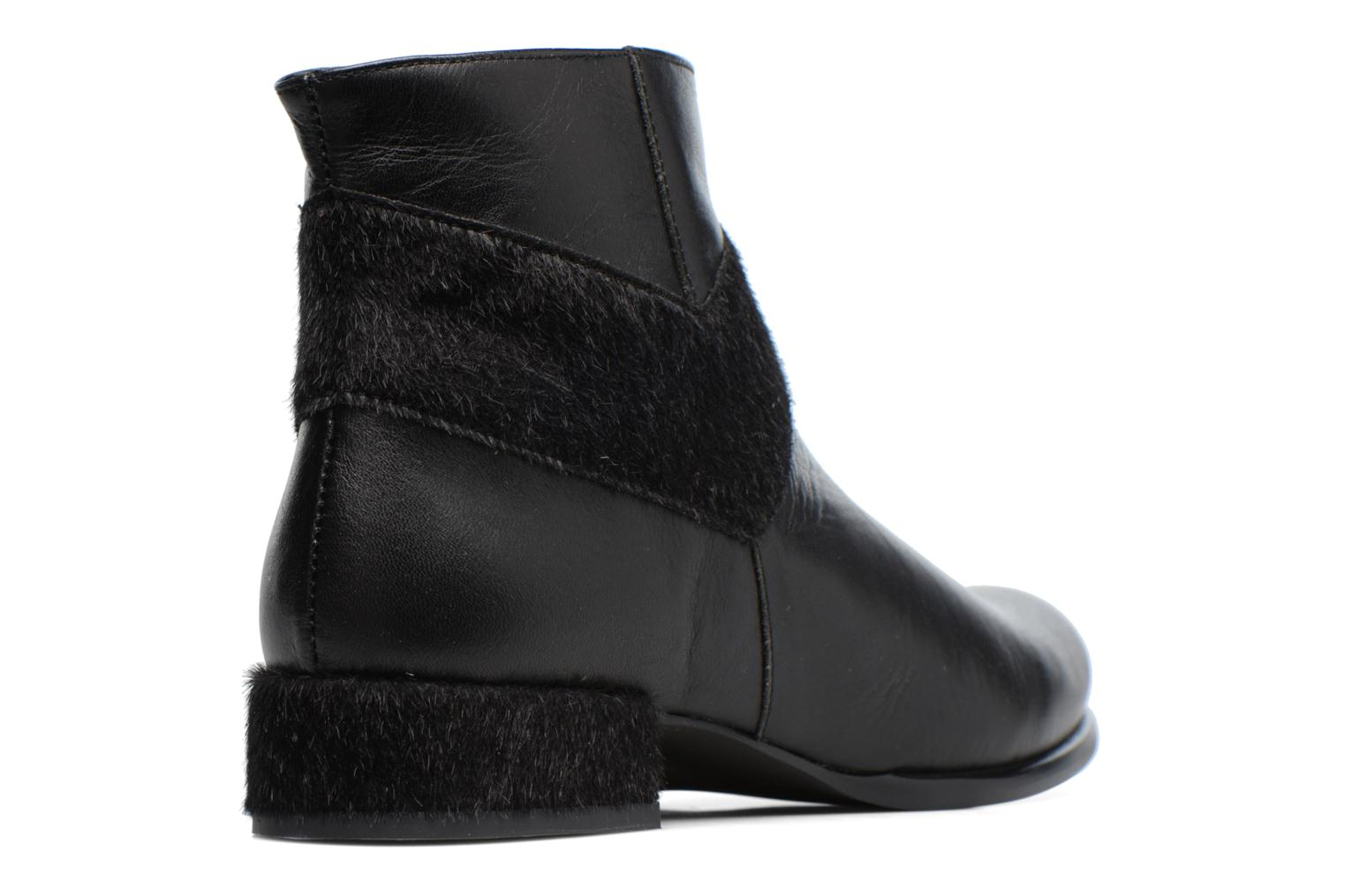 Ankle boots Made by SARENZA Winter Ski #15 Black front view