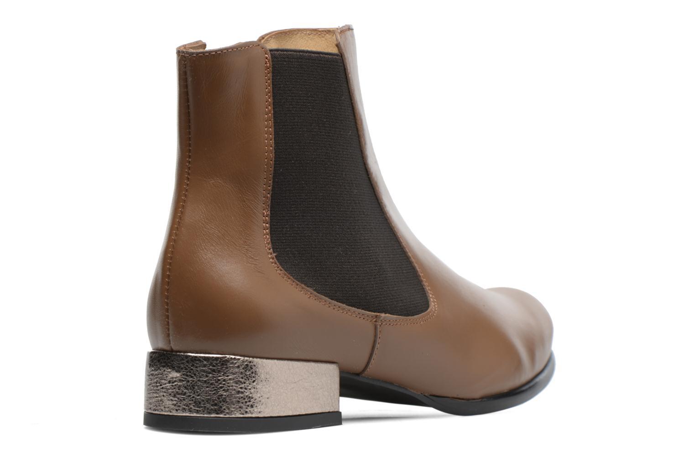 Bottines et boots Made by SARENZA Winter Freak #4 Marron vue face