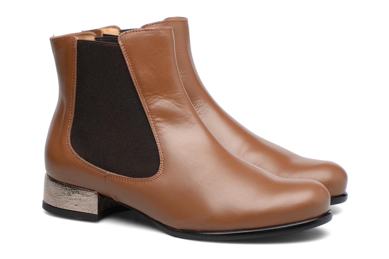 Bottines et boots Made by SARENZA Winter Freak #4 Marron vue derrière
