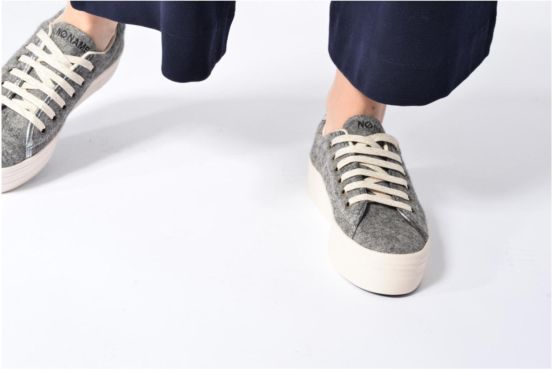 Baskets No Name Plato sneaker wake Gris vue bas / vue portée sac