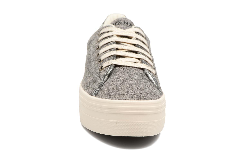 Baskets No Name Plato sneaker wake Gris vue portées chaussures