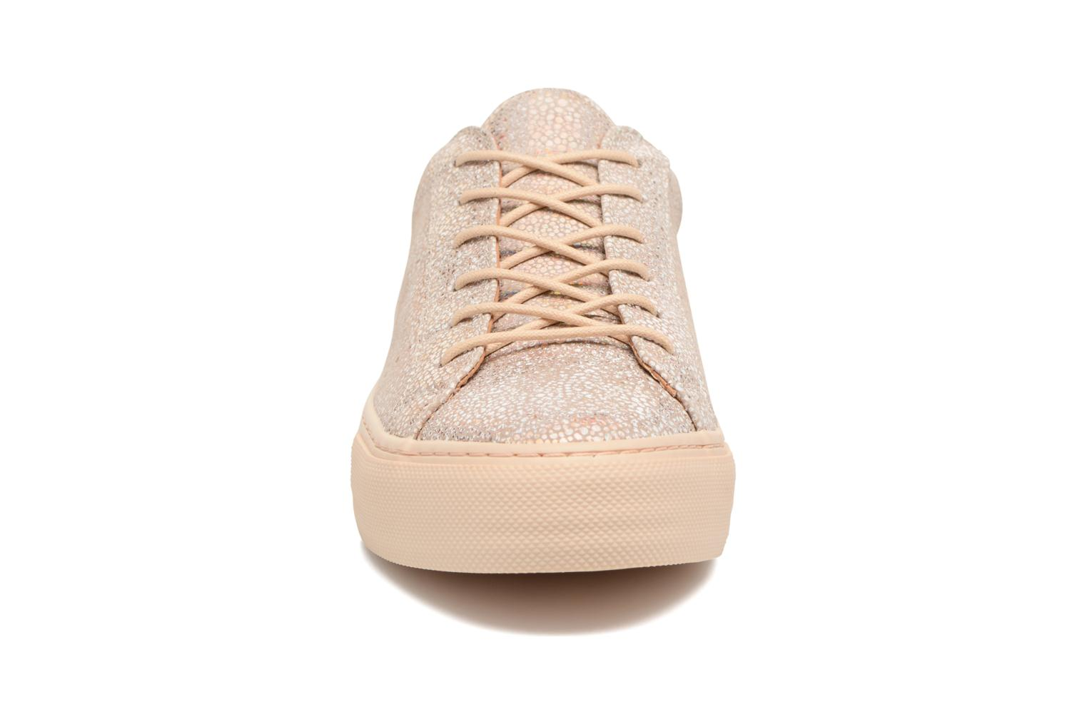 Baskets No Name Arcade Sneaker Magma Rose vue portées chaussures
