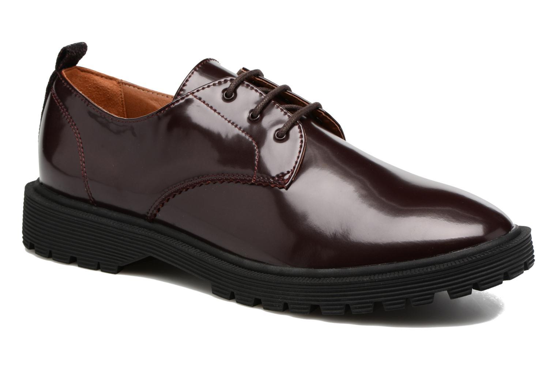 Chaussures à lacets Armistice Rock Derby Bordeaux vue 3/4
