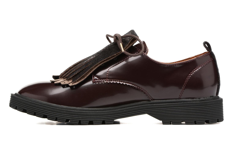 Chaussures à lacets Armistice Rock Derby Bordeaux vue face