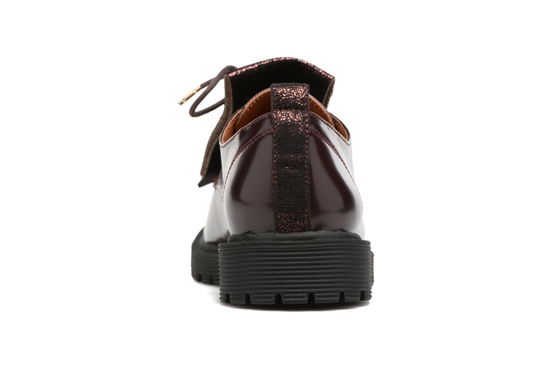 Chaussures à lacets Armistice Rock Derby Bordeaux vue droite
