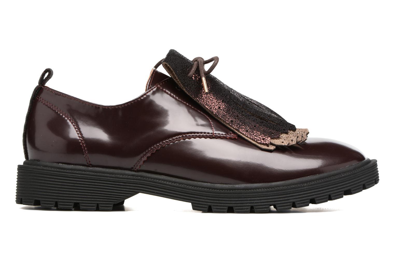 Chaussures à lacets Armistice Rock Derby Bordeaux vue derrière