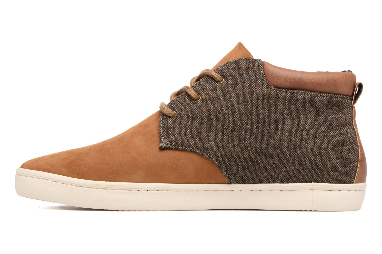 Trainers Armistice Drone desert england Brown front view