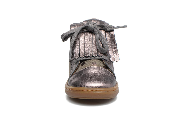 Bottines et boots Shoo Pom Bouba Mex Argent vue portées chaussures