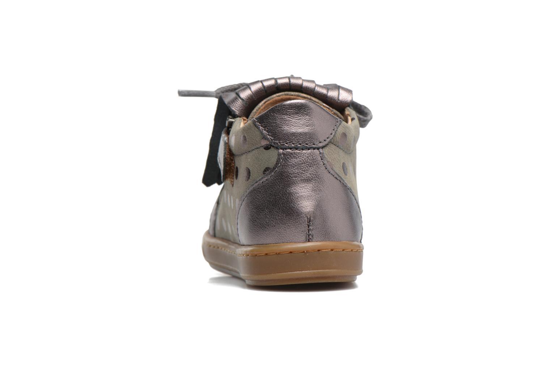 Bottines et boots Shoo Pom Bouba Mex Argent vue droite