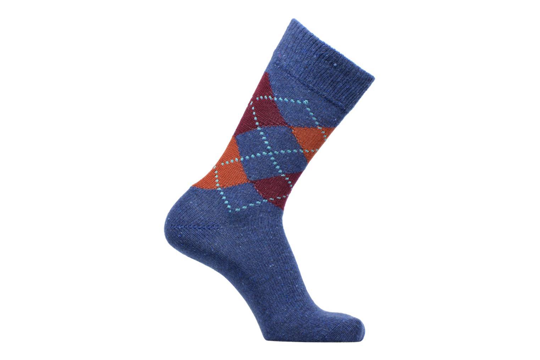 Socken & Strumpfhosen Burlington Tweed Argyle SO blau detaillierte ansicht/modell
