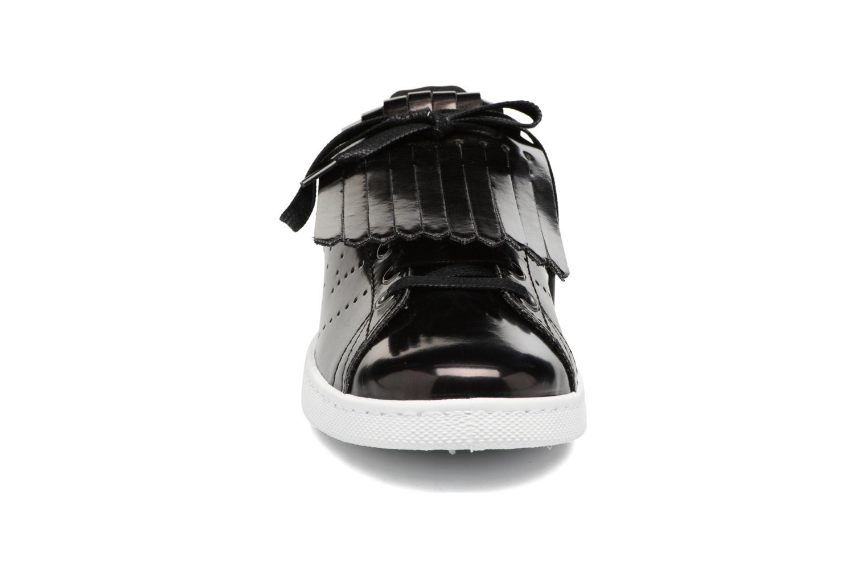 Baskets Victoria Deportivo Flecos Espejo Noir vue portées chaussures
