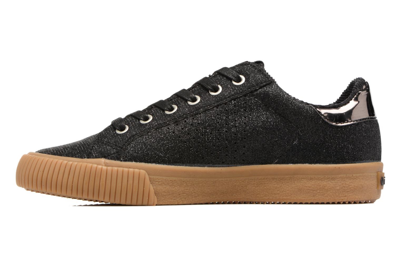 Sneakers Victoria Deportivo Lurex Zwart voorkant