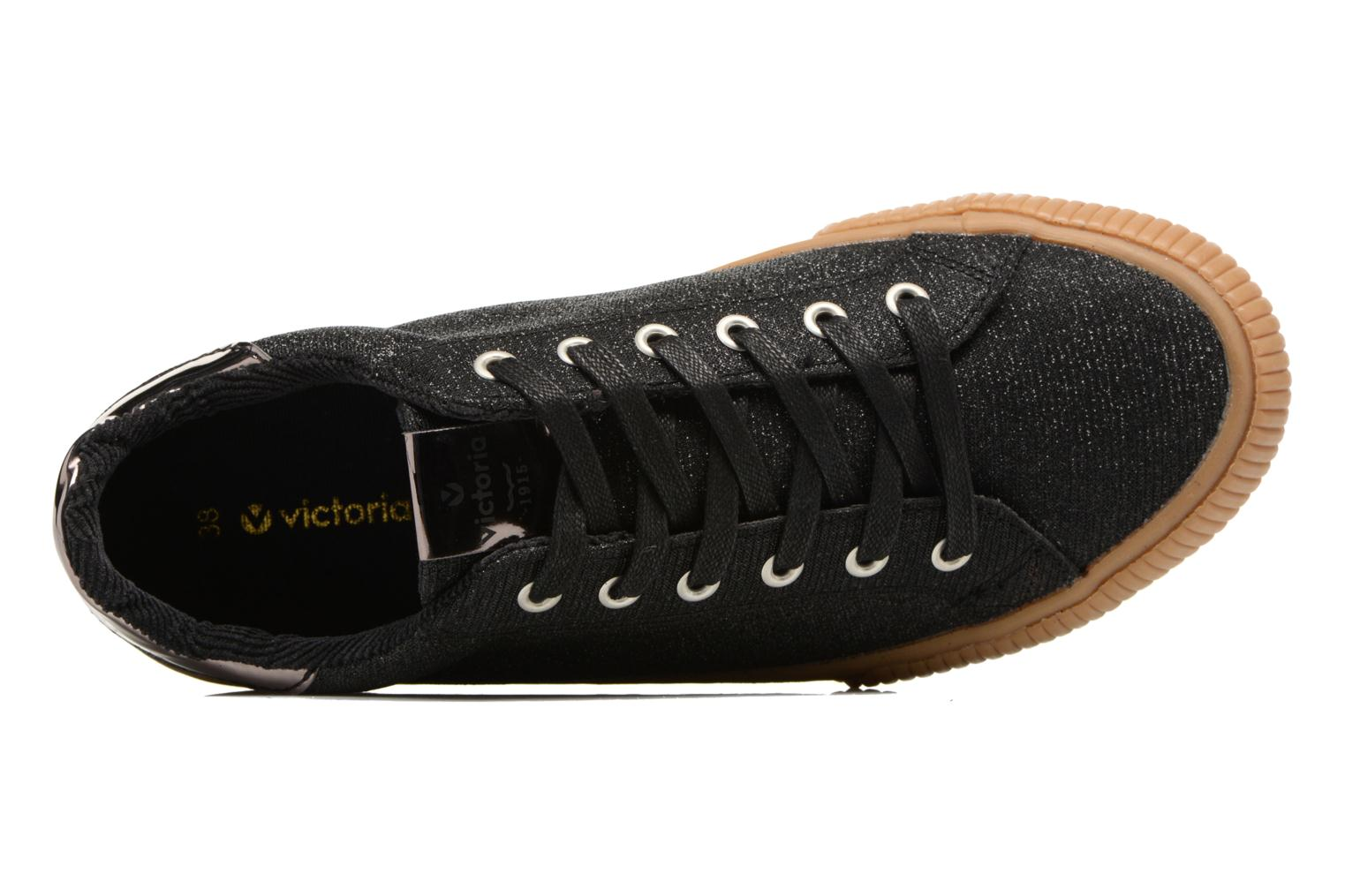 Sneakers Victoria Deportivo Lurex Zwart links