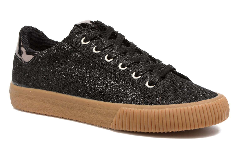 Sneakers Victoria Deportivo Lurex Zwart detail