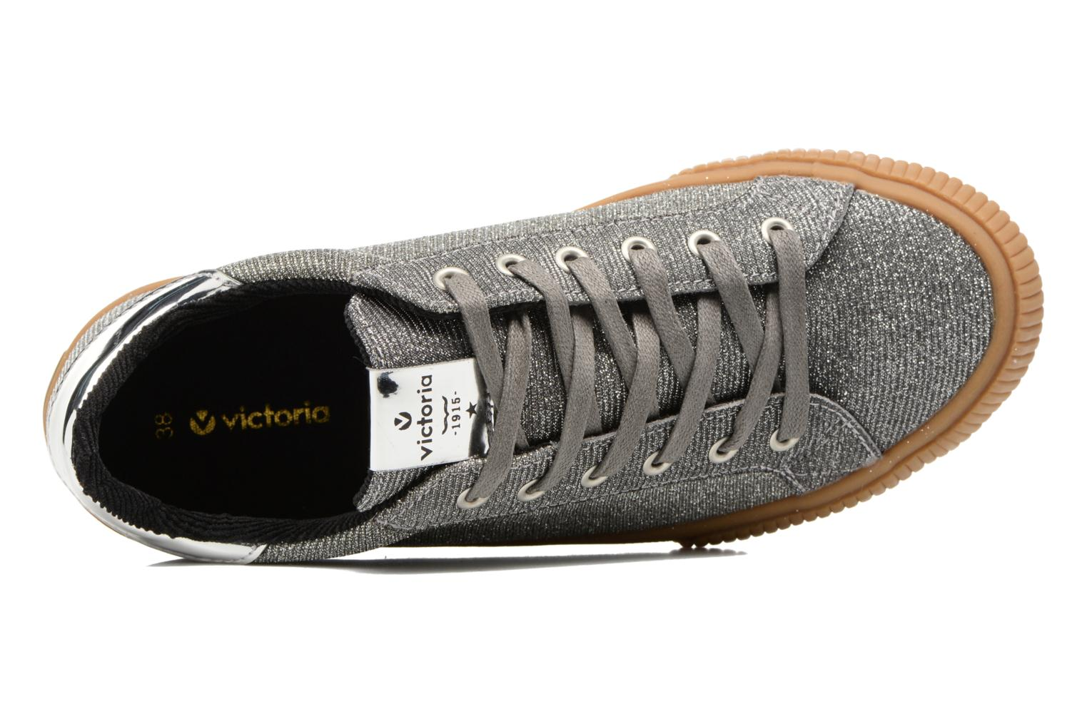 Sneakers Victoria Deportivo Lurex Zilver links