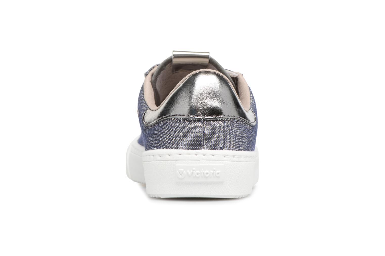 Sneakers Victoria Deportivo Lurex Grijs rechts