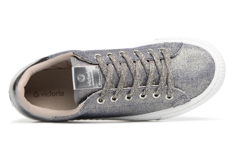 Sneakers Victoria Deportivo Lurex Grijs links