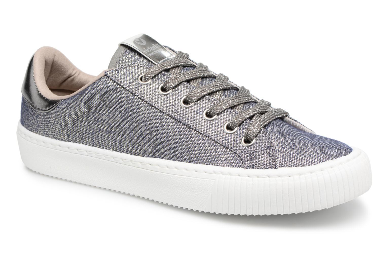 Sneakers Victoria Deportivo Lurex Grijs detail