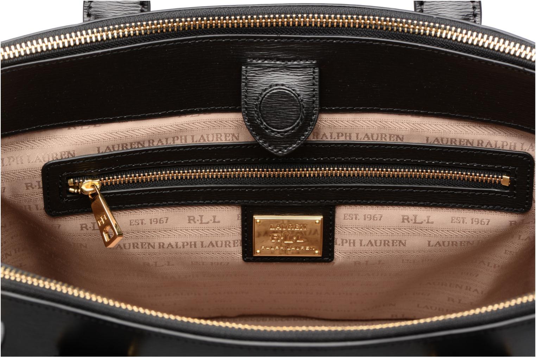 Handtassen Lauren by Ralph Lauren Newbury Double Zipper Shopper Zwart achterkant